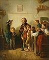 Benjamin Vautier - Die erste Schulstunde (1870).jpg
