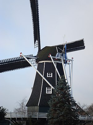 Ambt Doetinchem - One of the remaining windmills in the former municipality.