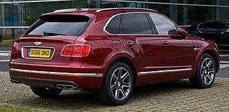 Bentley Bentayga - Bentley Bentayga Diesel (United Kingdom)