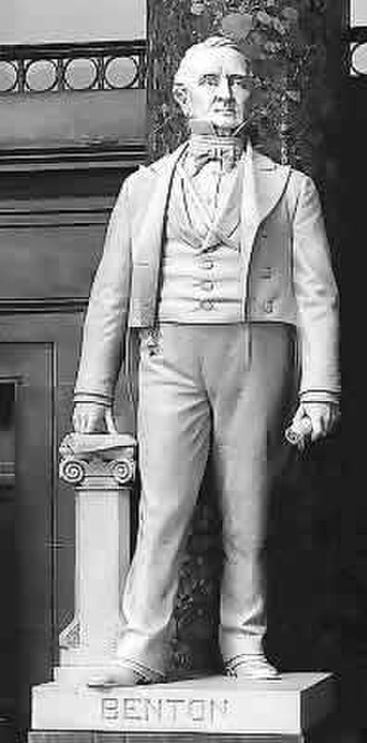 Thomas Hart Benton (Doyle) - The statue in the National Statuary Hall Collection