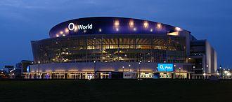 Mercedes-Benz Arena (Berlin) - Image: Berlin O2 night