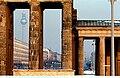 Berlin - Brandenburg Gate and Television Tower.jpg