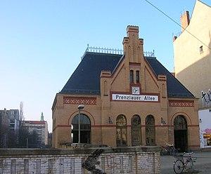 Berlin Prenzlauer Allee station - Image: Berlin S Bahnhof Prenzaluer Allee