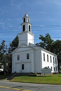 Bernardston Congregational Unitarian Church church building in Massachusetts, United States of America