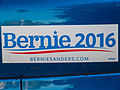 Bernie Sanders bumper sticker in Seattle.jpg