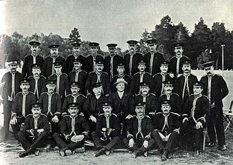 Besses o' th' Barn Band - Besses o' th' Barn Band in New Zealand, 1907