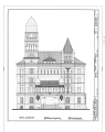 Bexar County Courthouse, 20 Dolorosa Street, San Antonio, Bexar County, TX HABS TEX,15-SANT,36- (sheet 2 of 2).png