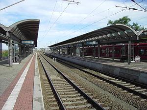 Salzwedel station - View over the platforms