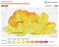 Bhutan PVOUT Photovoltaic-power-potential-map GlobalSolarAtlas World-Bank-Esmap-Solargis.png