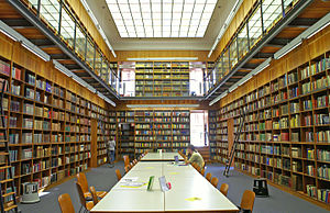 IG Farben Building - Library in the building