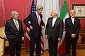 Bilateral Nuclear Talks - Ernest Moniz-John Kerry-Mohammad Javad Zarif-Ali Akbar Salehi.jpg
