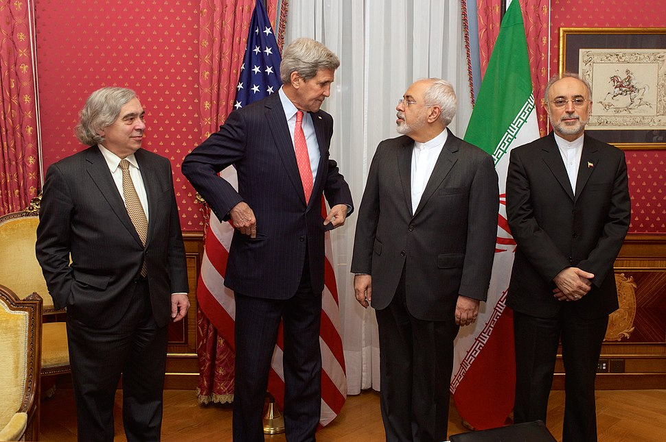 Bilateral Nuclear Talks - Ernest Moniz-John Kerry-Mohammad Javad Zarif-Ali Akbar Salehi
