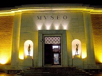 Bilbao Fine Arts Museum - Former main entrance.