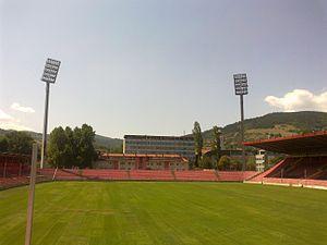 Bilino Polje Stadium - Image: Bilino Polje 3