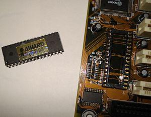 BIOS - A detached BIOS chip