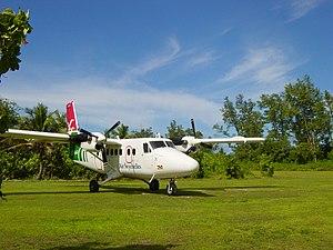 Bird Island Airport - Image: Bird Island Air Seychelles