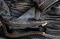 Black worn leather jacket detail 2.jpg