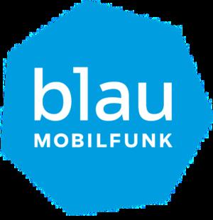 Blau Mobilfunk - Image: Blau Mobilfunk Logo