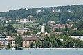 Blick vom Zürichsee auf Riesbach (2009).jpg