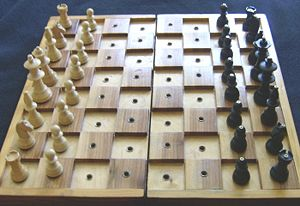 chessboard for blind players