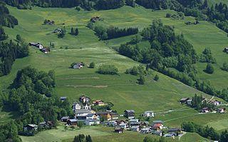 Blons Place in Vorarlberg, Austria