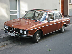 BMW New Six - E3 и E9