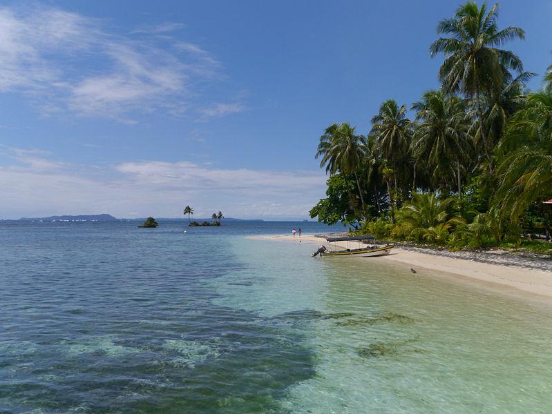 Bocas del Toro, praia no Panamá