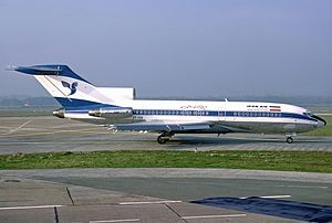 Iran Air Flight 291 - An Iran Air Boeing 727-100, similar to the one involved.