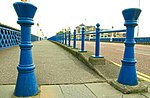 Bollard and railings, Belfast - geograph.org.uk - 1003286.jpg
