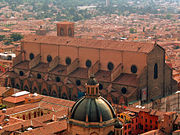 Bologna Italy San Petronio from Asinelli.jpg