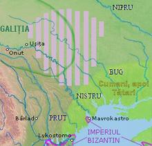 Los territorios de los Bolohoveni