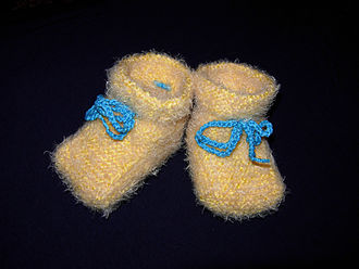 Bootee - Infant's bootees