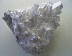 Borate - borax crystals