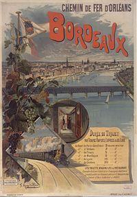 Le chemin de fer a transformé la FRANCE dans AUX SIECLES DERNIERS 200px-Bordeaux-Paris_in_8_hours_%281897%29