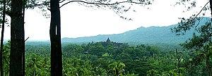 Kedu Plain - fertile Kedu plain around Borobudur.
