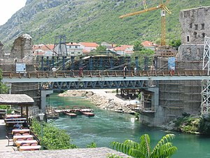 Bosnia, Mostar, old bridge 2