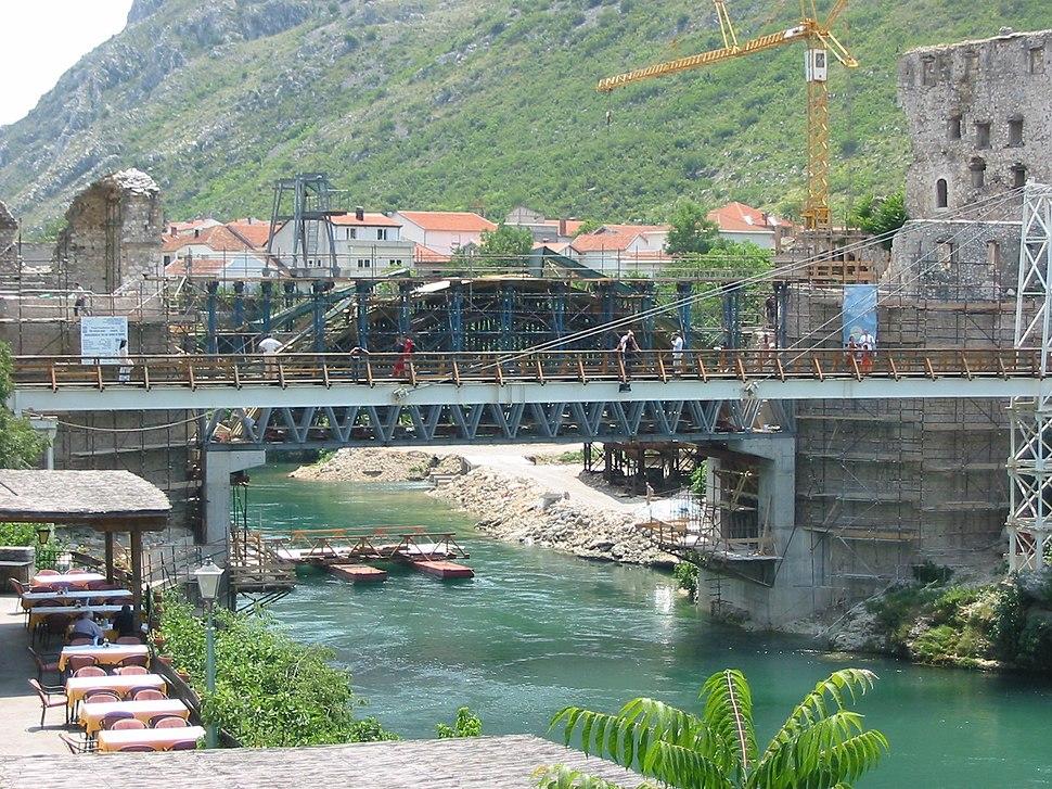 Bosnia, Mostar, old bridge 2
