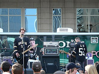 Bowling for Soup - Bowling for Soup performing before the Stars' run in the 2008 Stanley Cup playoffs