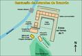 Brauron planskisse-Plano santuario Artemisa-es.png