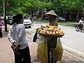 Bread seller, Hanoi (4855708907).jpg
