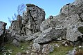 Break in the crags, Ruabon Mountain - geograph.org.uk - 1238504.jpg