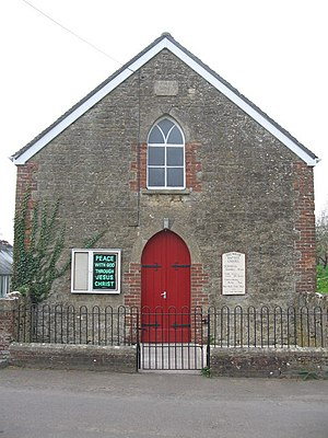 Brewham - Image: Brewham Baptist Chapel geograph.org.uk 402421
