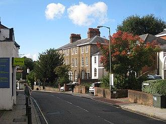 Leatherhead - Image: Bridge Street, Leatherhead (geograph 2099800)