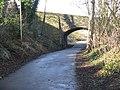 Bridge over the Newbridge-S. Queensferry Cycleway - geograph.org.uk - 1191710.jpg