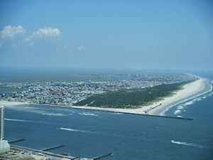 Brigantine, New Jersey - View of Brigantine from Revel Atlantic City