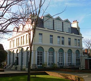 Brighton and Hove High School - The main part of the school is housed in The Temple, Thomas Read Kemp's former home.