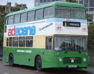 Maidstone & District Motor Services - Image: Bristol VRT (M&D Livery)