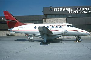 Northwest Airlink Flight 5719 - A Northwest Airlink BAe Jetstream 31 similar to the accident aircraft