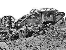 British Mark I male tank Somme 25 September 1916 large.jpg