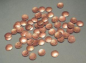 Farmborough - Coins from the Farmborough Hoard, 1st Century AD